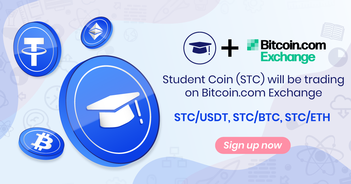 Student Coin Stc Is Now Trading On Bitcoin Exchange
