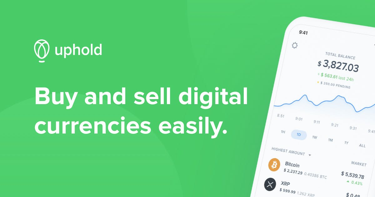 Uphold The Easiest Place To Earn Your Favorite Cryptocurrencies