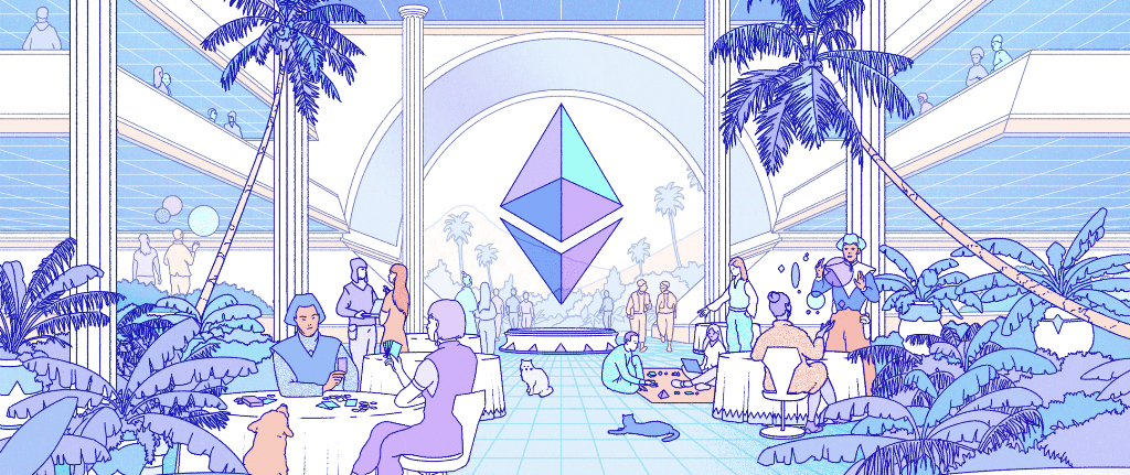 Ethereum Is The Community Run Technology Powering The Cryptocurrency Ether Eth And Thousands Of Decentralized Applications