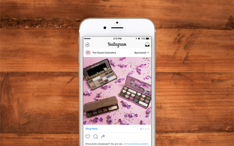 Read About Too Faced Success On Instagram And Facebook